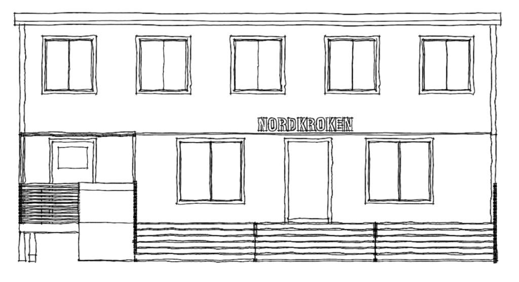 Fasad nordkoken
